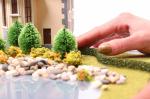 Фолиажные ленты для имитации живых изгородей 3 шт. (5х10мм.)