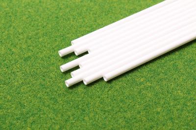 Трубки пласт. D=4мм. L=25 см. (Набор 10 шт.)