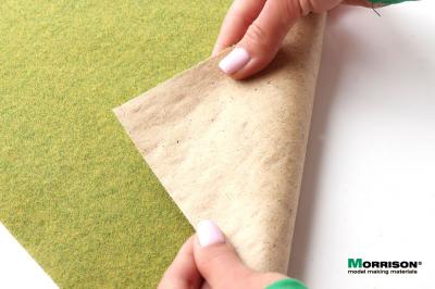 (А4 - 20х29 см.) Травяной мат «Спокойная зелень»