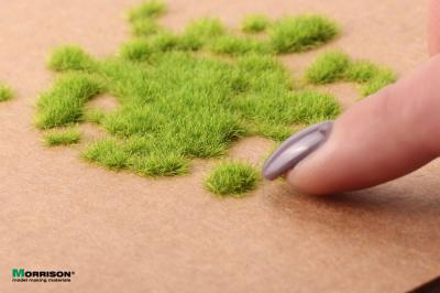 Электростатическая трава для флокатора «Сочная зелень» 3 мм.