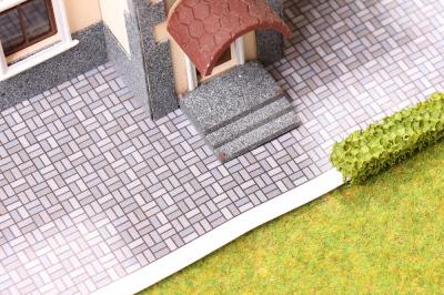 Тротуарная плитка для макета.