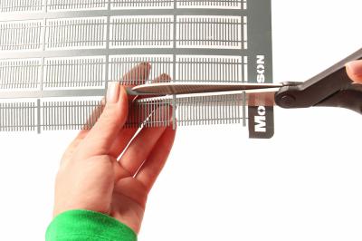 Забор секционный в масштабе H=2см./L=76см.
